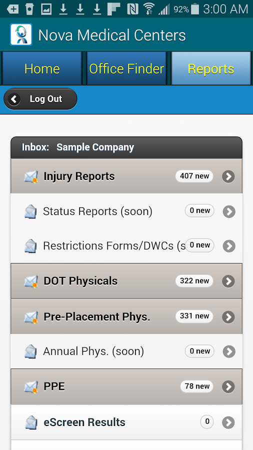 NovaMC (Nova Medical Centers)- screenshot