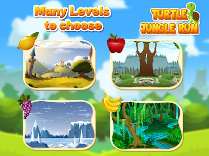 Turtle Jungle Run Adventure Screenshot
