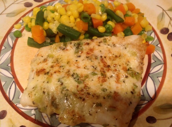 Delicious - Baked / Broiled Parmesan Fish Recipe