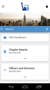 NIRI New York Chapter App- screenshot thumbnail