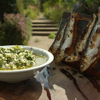 Barbecued Sardines.