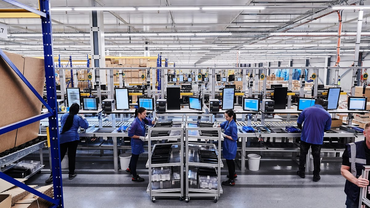 Remanufacturing facility in Amsterdam, NL