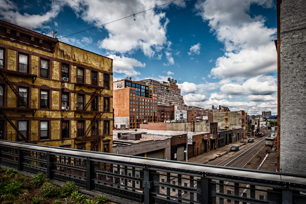 Photo: Just a simple shot taken from the High Line in New York City on a recent trip. Processing courtesy of Lightroom, Photoshop, Color Efex Pro 4 and Silver Efex Pro 2. The more I visit New York, the more I like it.  #BreakfastClub curated by +Gemma Costa