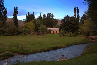 Photo: Lombardy Cottage, our austral summer 'home'