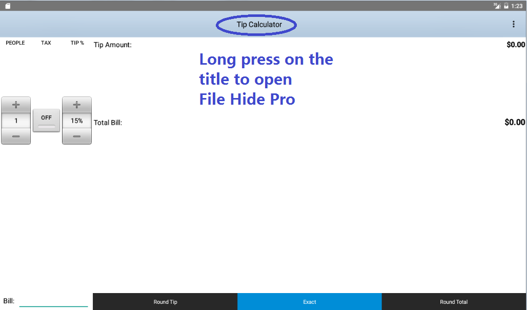 File Hide Pro- screenshot