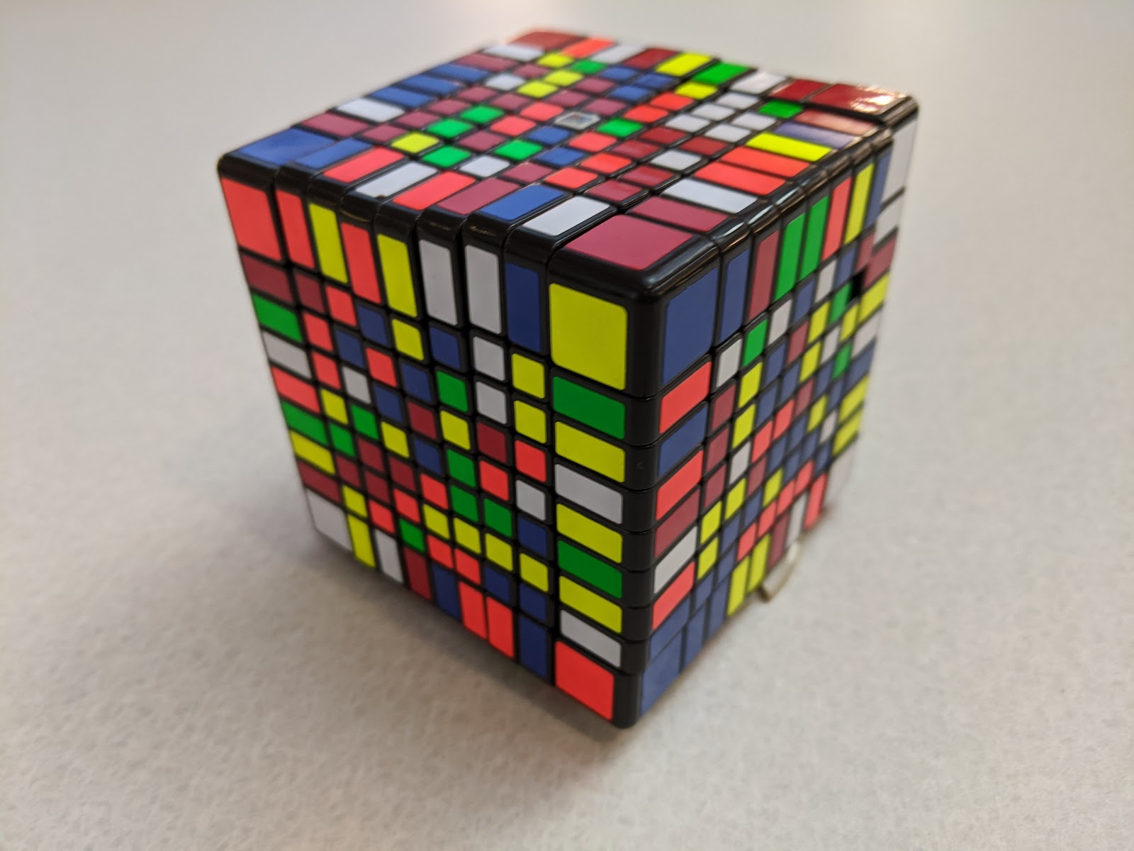 impossible rubix cube