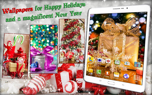 Christmas Gifts ud83cudf81 Live Wallpapers New Year 2.4 screenshots 11