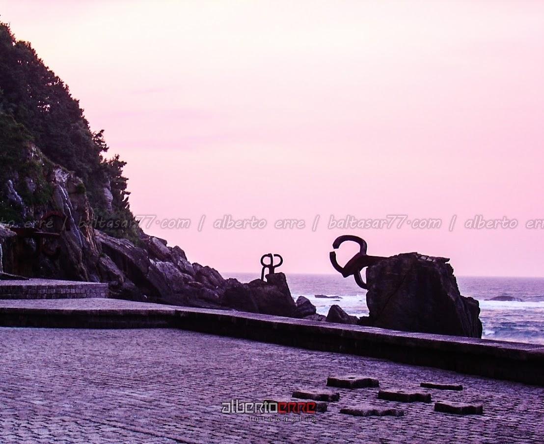 Peine de los vientos - San Sebastián