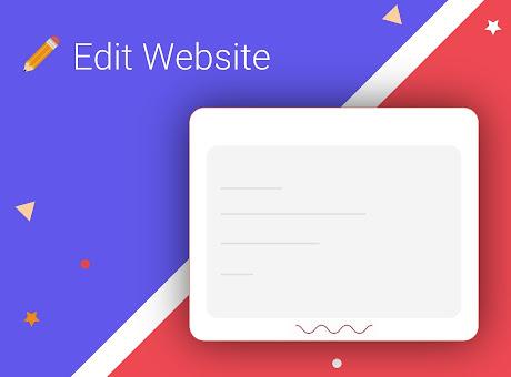 Edit Website Extension