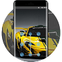 Bumblebee Alien Dominant Sports Racing Car theme APK icon