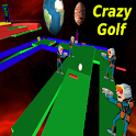 Crazy Golf in Space Pro icon