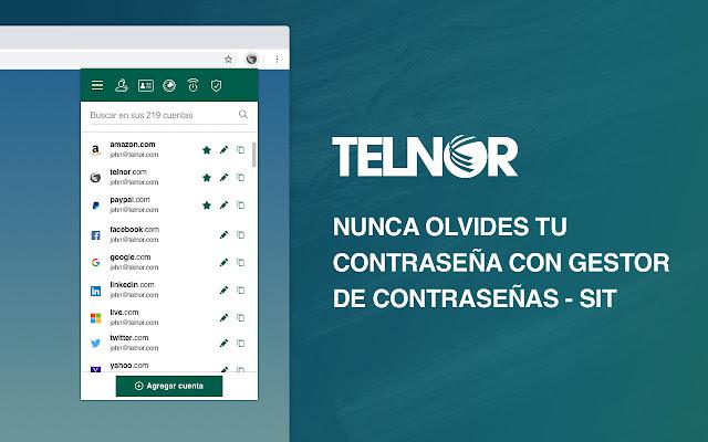 Gestor de contraseñas - Telnor