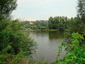 Photo: sútok Sázavy a Vltavy