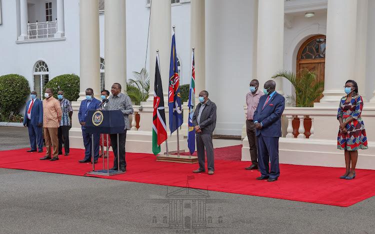 Uhuru crafting legacy Cabinet