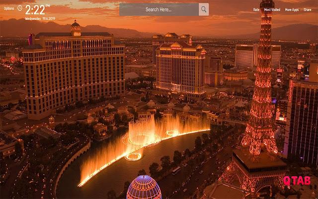 Las Vegas Wallpapers Hd Theme