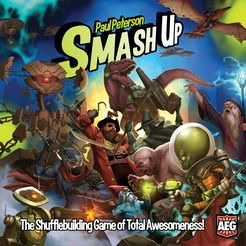 Box art for Smash Up ( source: Published by Alderac Entertainment Group )