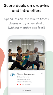 Mindbody: Home Workout & Fitness App Screenshot