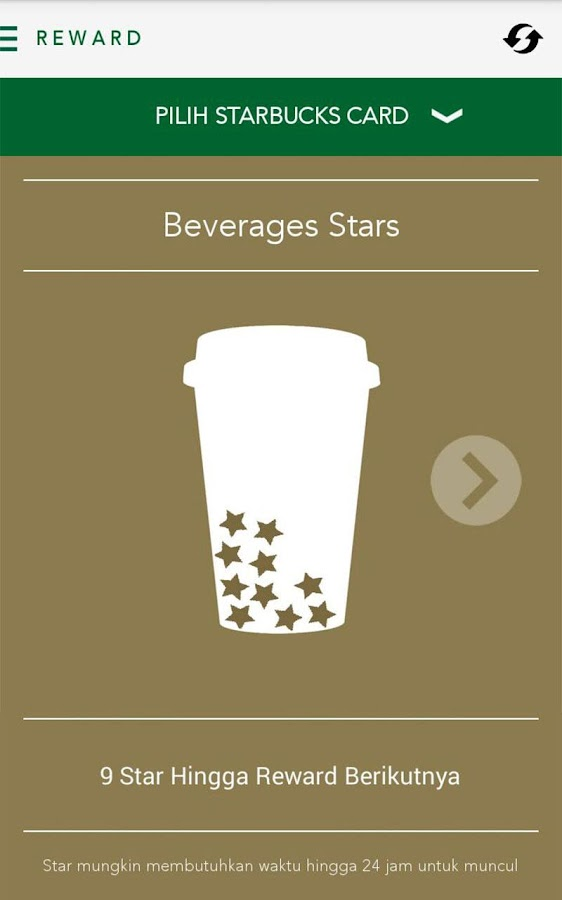 Starbucks Indonesia- screenshot