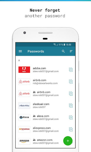 Dashlane Password Manager 6.1917.2-armeabi-v7a screenshots 1