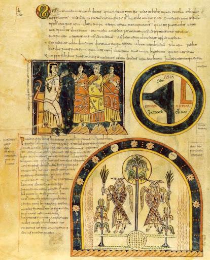 Mapas antiguos II: La Alta Edad Media