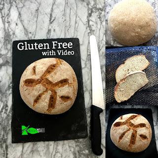Gluten Free Artisan Bread with Video.