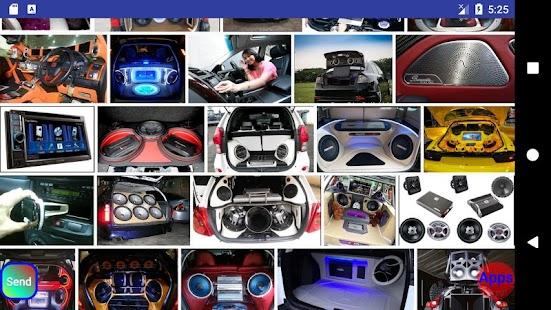 Design of car sound system - náhled