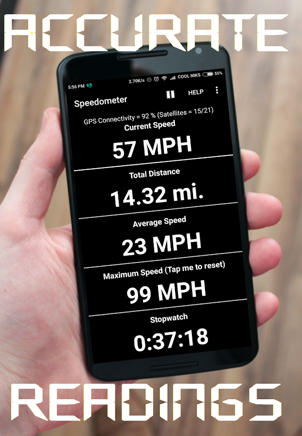 GPS Speedometer and Odometer- screenshot