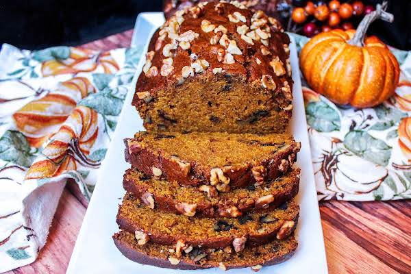 Super Moist Pumpkin Bread With Or Without Dates Recipe