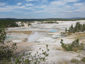 Photo: Norris Geyser Basin