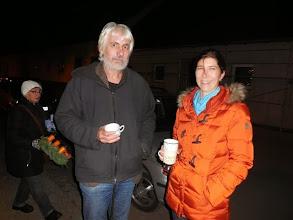 Photo: Geri Braunsteiner und Sandra Bauer tun Gutes