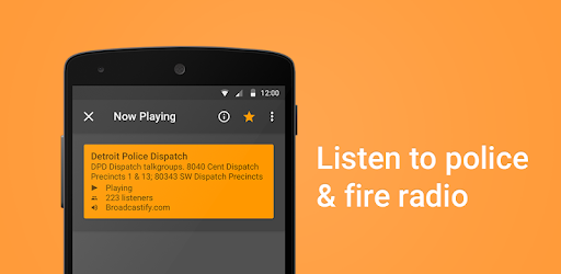 The only scanner app that can alert you when major events are happening.