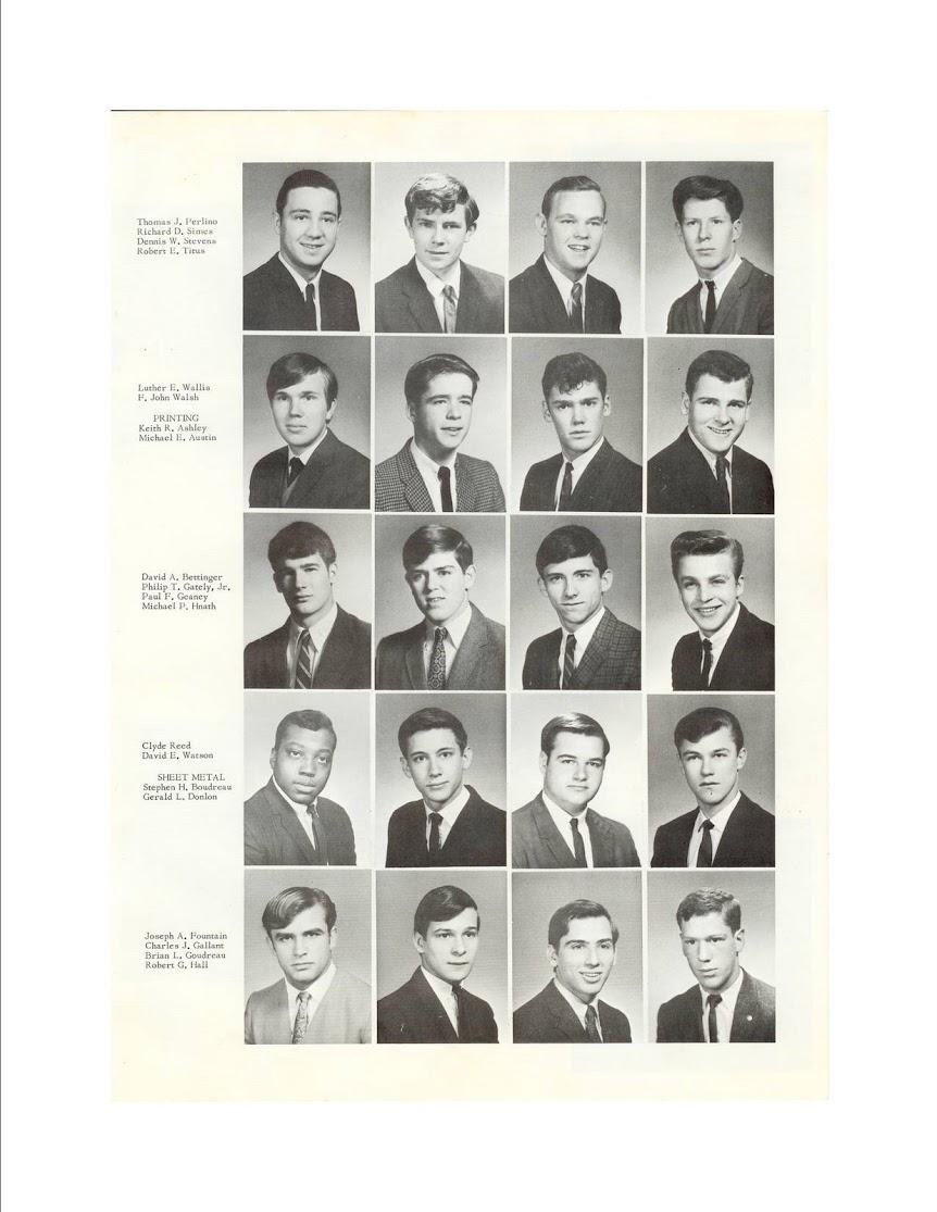 1968 Graduation Article Lynn Trade Lynn Vocational