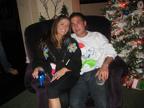 Photo: Ugly Sweater Party 2010 - Me and Joe