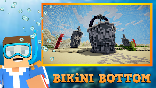 Craft Bikini Bottom - Underwater Building 13.0 APK MOD screenshots 2