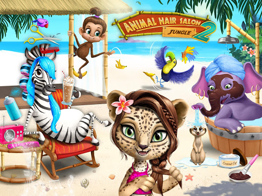 Jungle Animal Hair Salon 2 - Tropical Beauty Salon screenshots 10