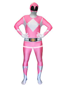 Morphsuit Power Rangers, rosa