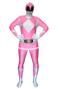 Morphsuit Power Rangers, rosa