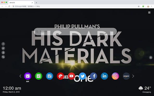 His Dark Materials New Tab