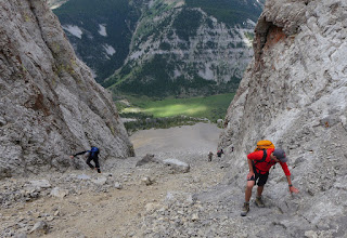 Photo: 2015 - The greatest danger is causing a rock to tumble down on those below.