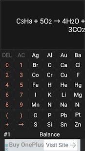 Chemistry Calculator - Chemical Equation Balancer - náhled