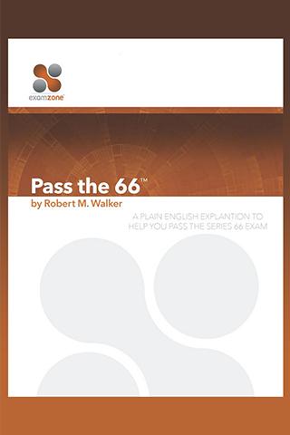 Pass The Series 66