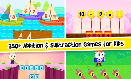 Addition and Subtraction for Kids - Math Games 1.8 screenshots 1