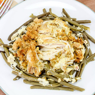 Crock Pot Chicken and Stuffing Dinner.