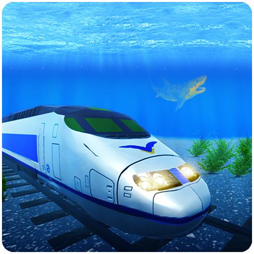 Giochi di treni 3D 2019: giochi reali sott'acqua