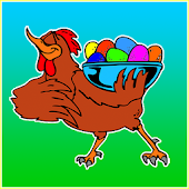 Easter Color Eggs Game