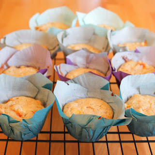 Brown Butter Nectarine Muffins with Mascarpone Filling Recipe