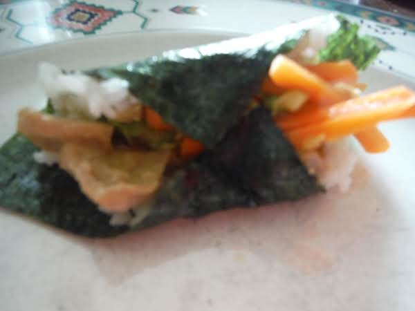 Japanese - Temaki Sushi (hand Roll) Recipe