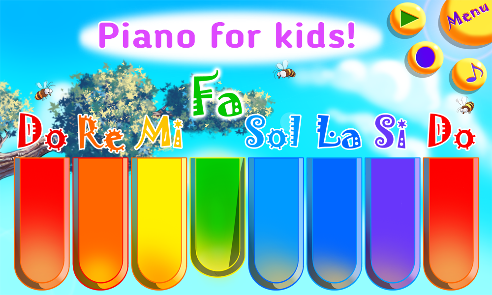 Baby Zoo Piano with Music for Toddlers and Kids- screenshot