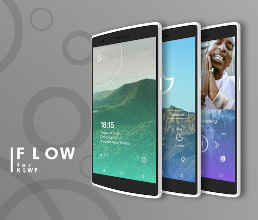 Flow for KLWP app for Android screenshot