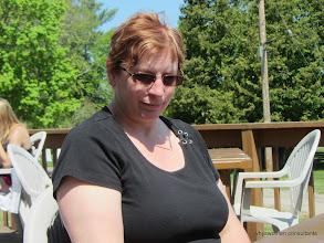 Photo: A pensive Nancy at the Tilt'n' Hilton